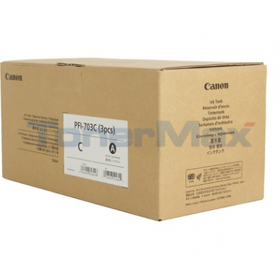 CANON PFI-703C INK TANK DYE CYAN